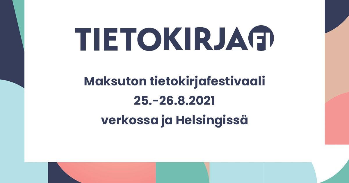 Linkki tapahtumaan Tietokirja.fi -festivaali 2021