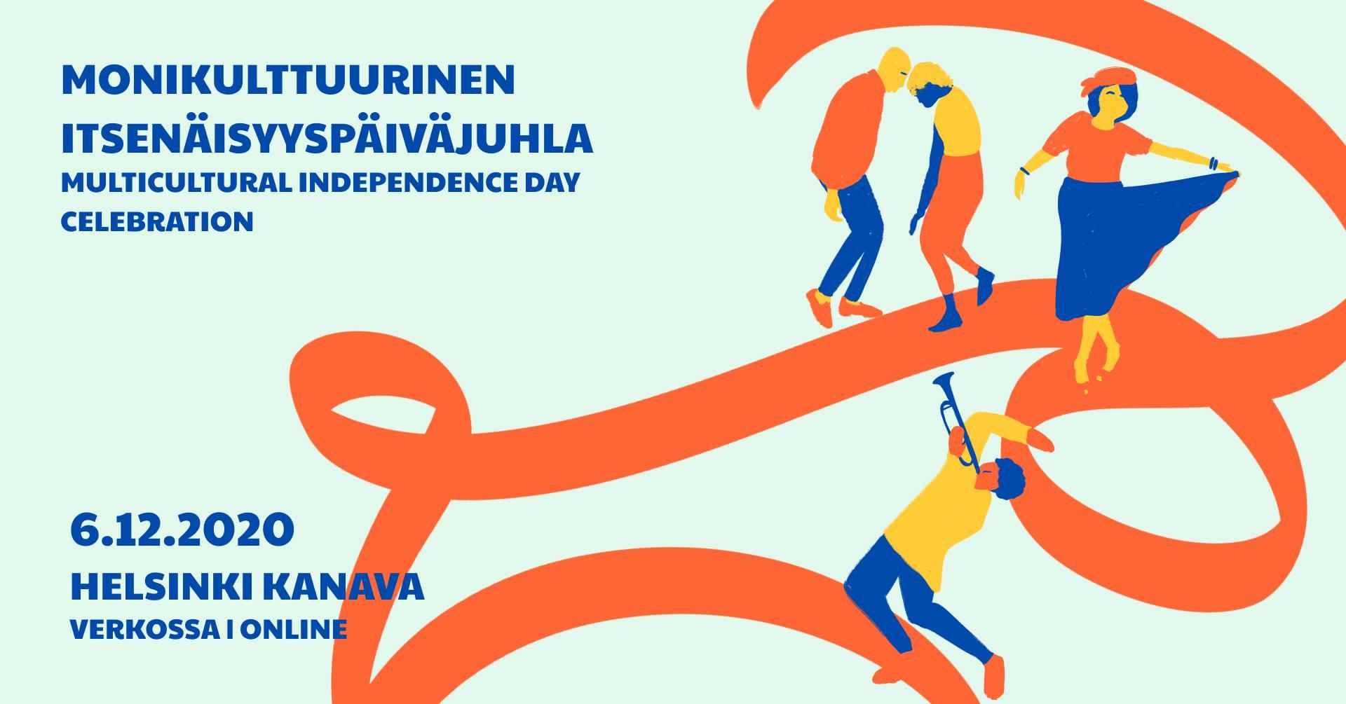 Linkki tapahtumaan Monikulttuurinen Itsenäisyyspäiväjuhla 2020 (Stream)