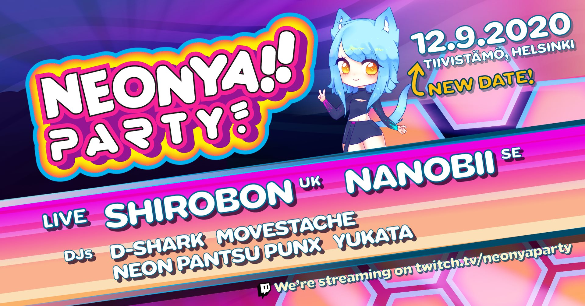 Link to event Neonya!! Party