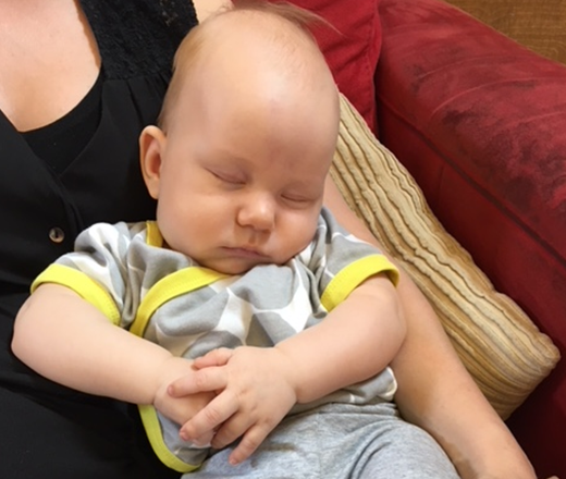 Linkki tapahtumaan Etävauvaperhetoiminta - vauvan vuorokausirytmi (Punavuori)