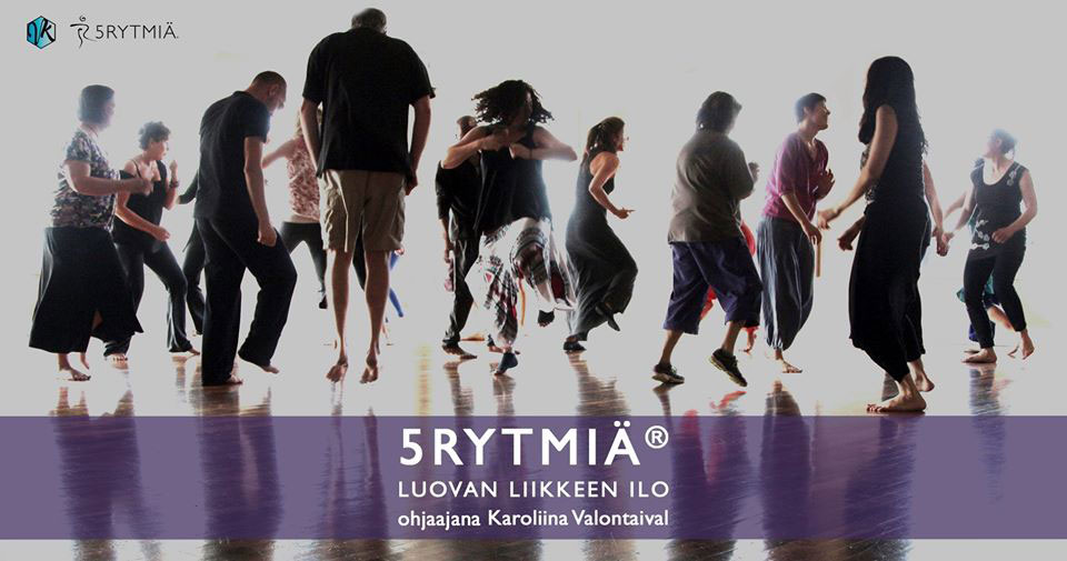 Link to event Cancelled: 5Rhythms®: Creative Dance Fridays