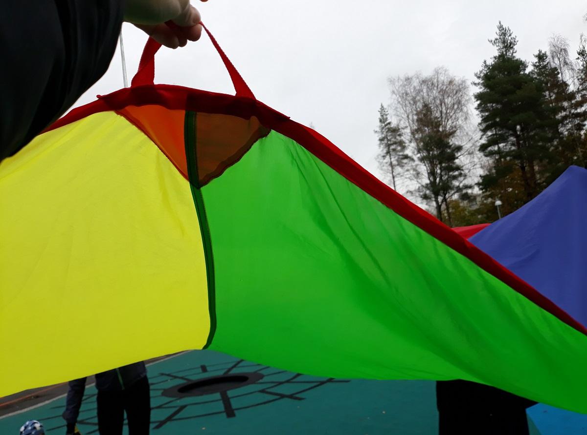 Linkki tapahtumaan Ohjatut liikunnalliset ulkoleikit leikkipuistossa