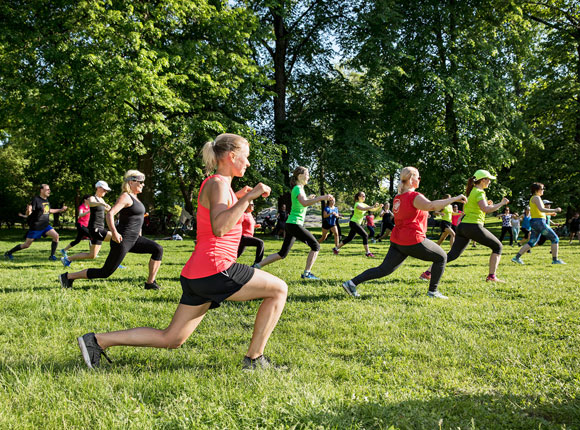Link to event  Workout in the Park: Tanssi explode