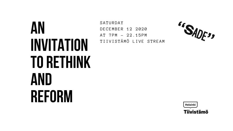 Link to event An Invitation to Rethink and Reform (Stream)