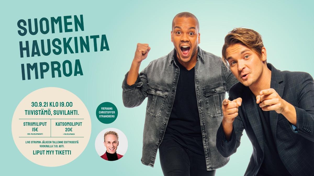 Linkki tapahtumaan Karanteeniteatteri: Roope Salminen & Ernst Lawson feat. Christoffer Strandberg (live + stream)