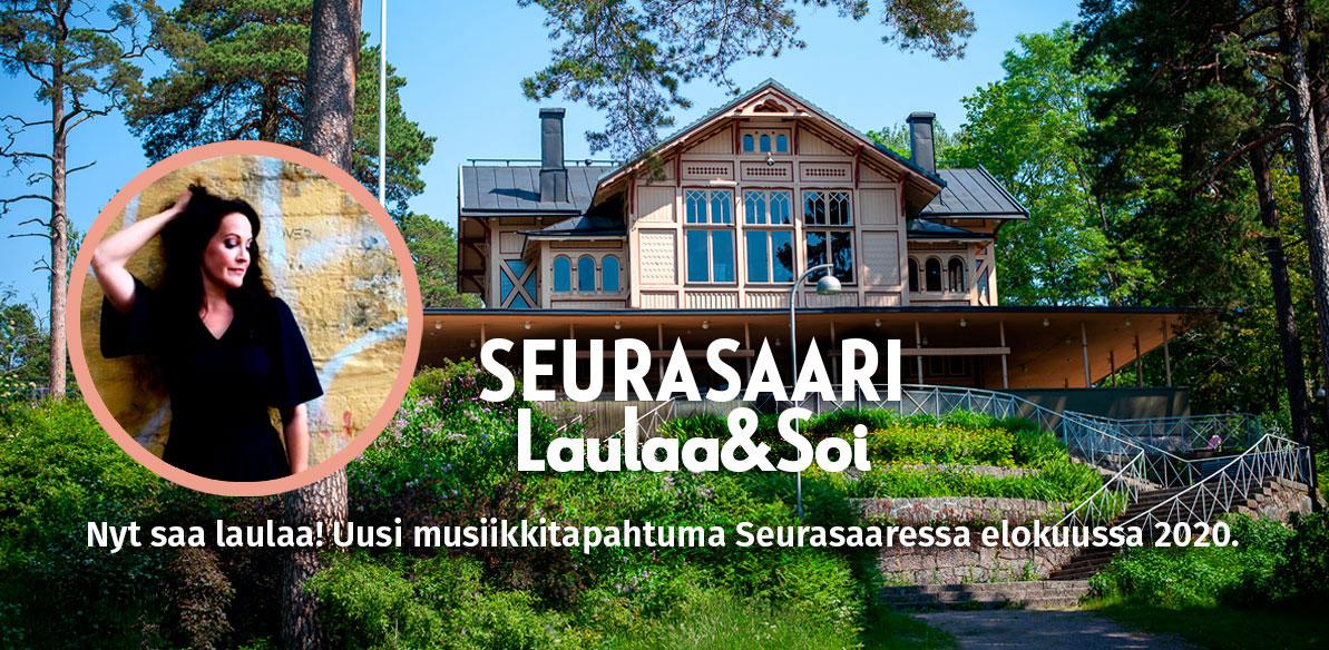 Linkki tapahtumaan Seurasaari Laulaa&Soi