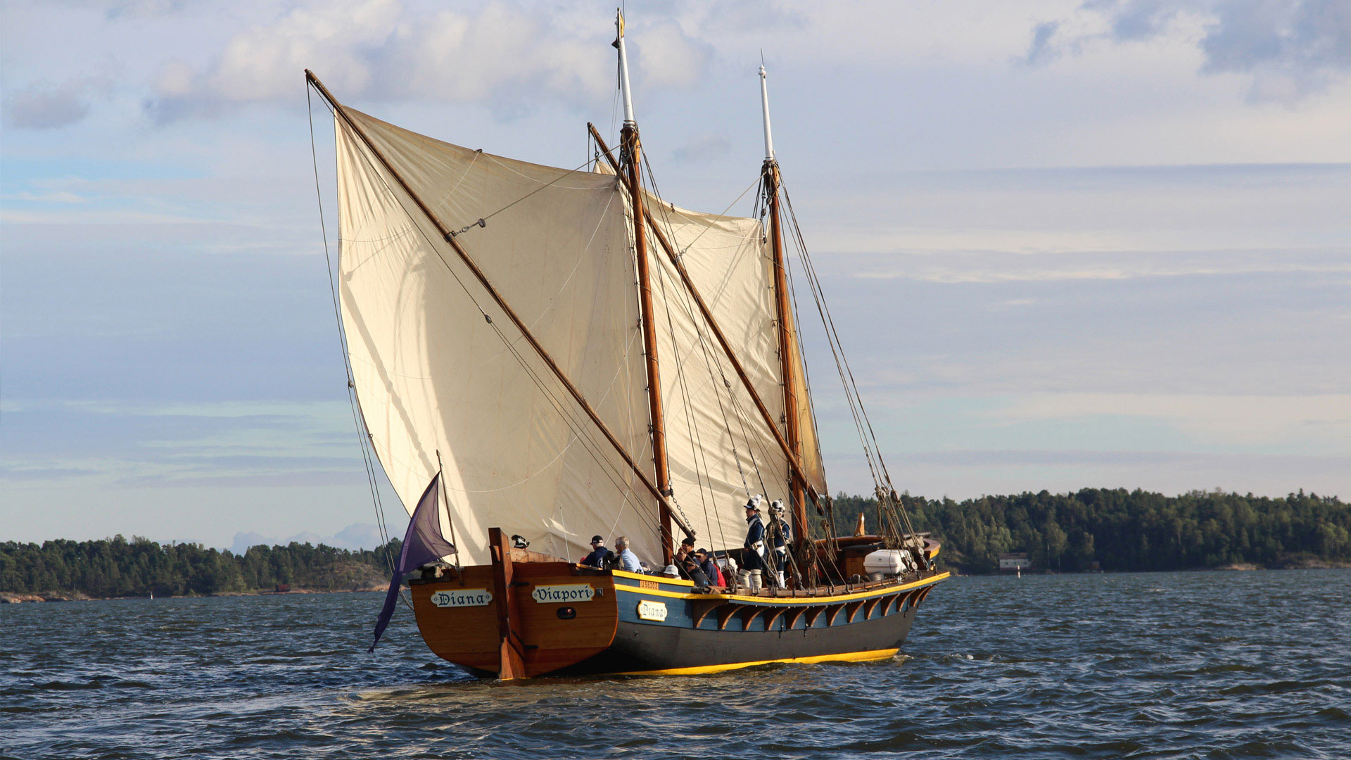Link to event Cannon Sloop Diana's Public Sailings 2020