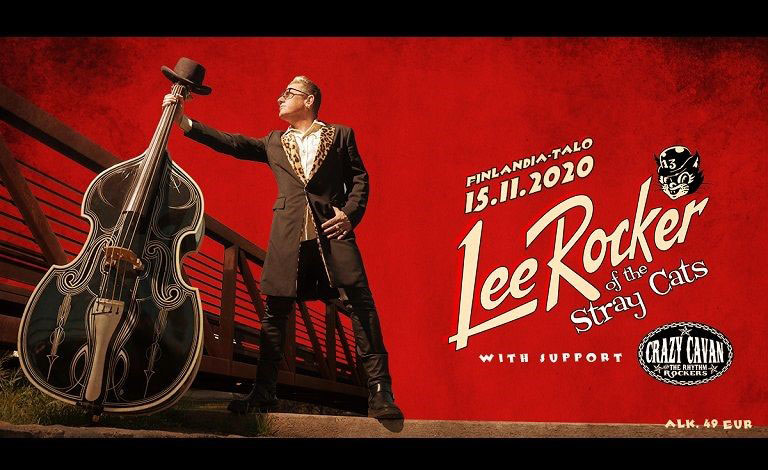 Link to event Lee Rocker of The Stray Cats