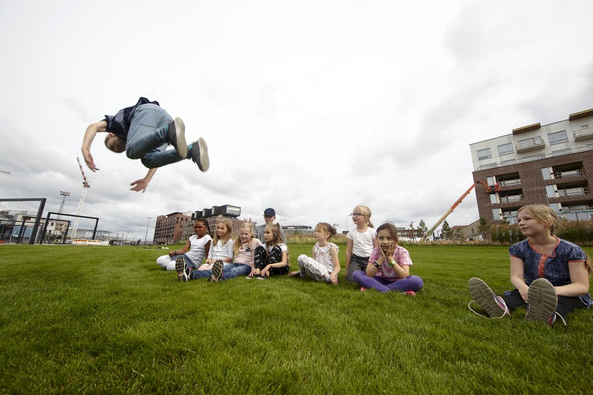 Seikkailua ja akrobatiaa