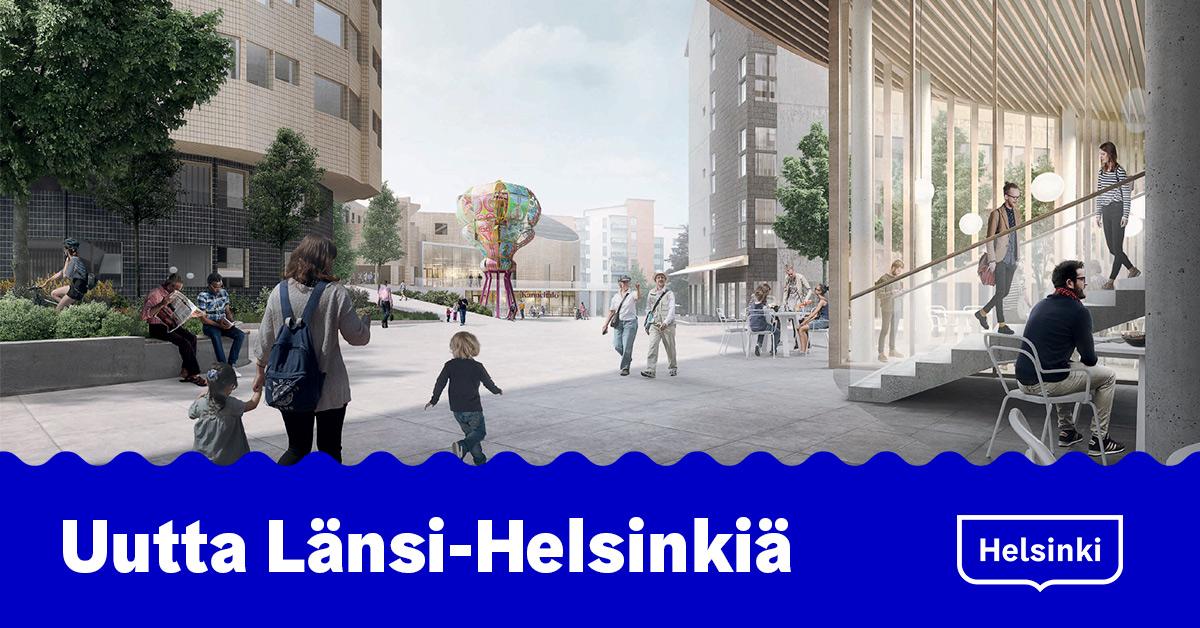 Linkki tapahtumaan Uutta Länsi-Helsinkiä