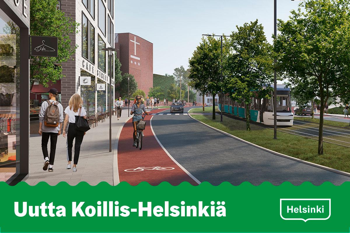 Linkki tapahtumaan Uutta Koillis-Helsinkiä -verkkotilaisuus 9.12.2020