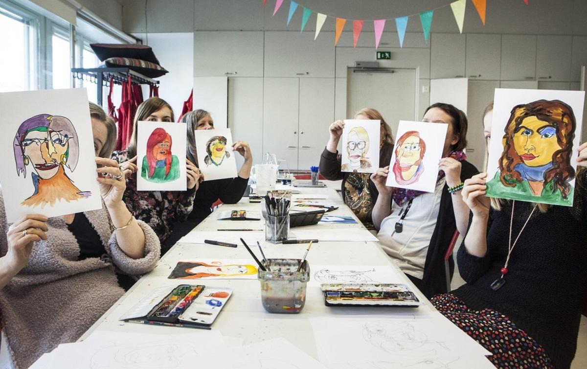 Linkki tapahtumaan Talviloma: HAM Taidehetket - tutustutaan mm. veistostekniikkaan ja muotokuvan piirtämiseen