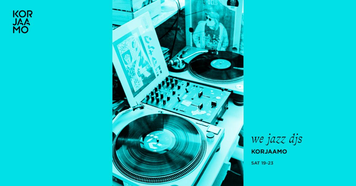 Linkki tapahtumaan We Jazz DJs